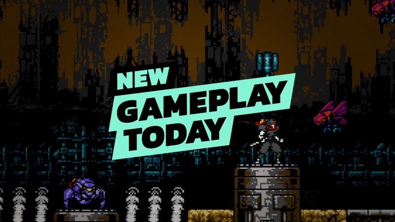 New Gameplay Today – Cyber Shadow