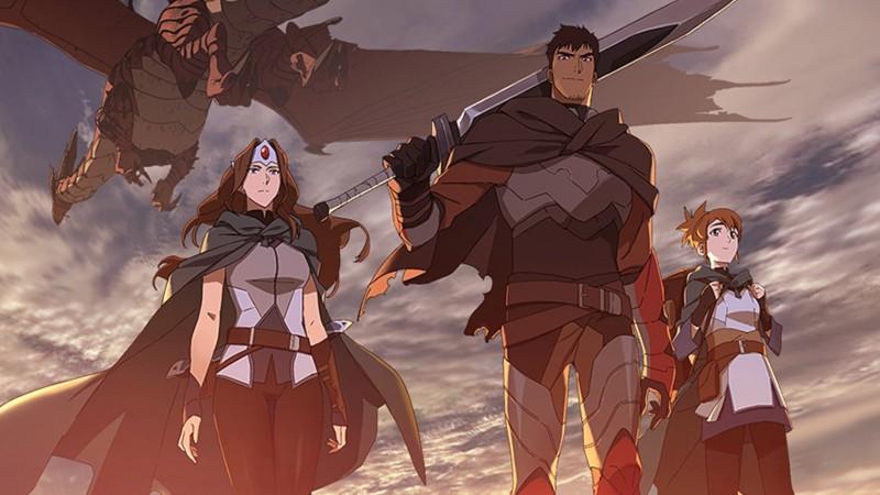 Dota Gets A Netflix Anime Next Month 2