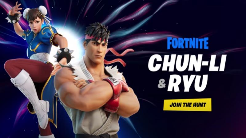 Street Fighter's Chun-Li And Ryu Coming To Fortnite Soon 2