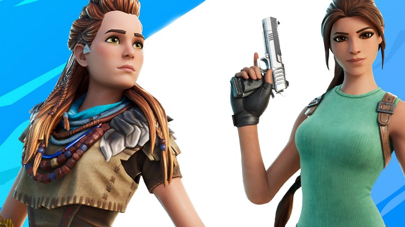 Fortnite's Aloy And Lara Croft Team-Up Delayed Until Next Week