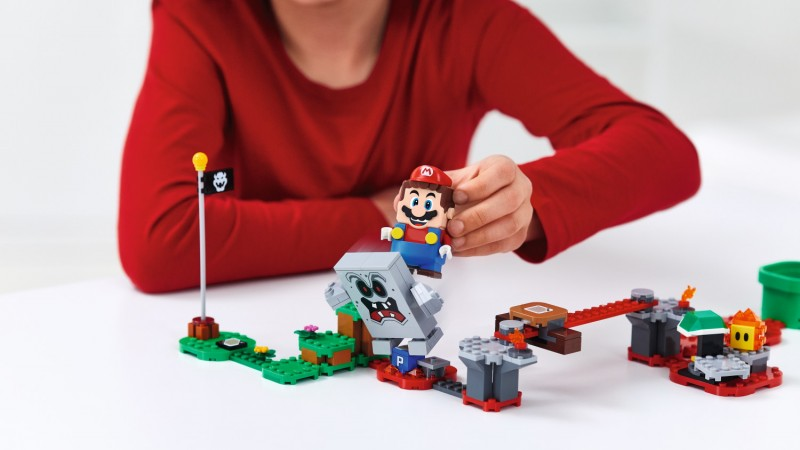 New Update Causes Lego Mario To Call Out For Luigi