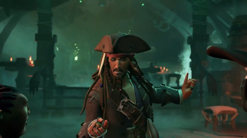Sea of Thieves Gets An Original Story Starring Jack Sparrow - Game Informer