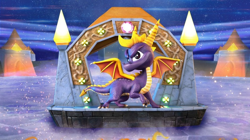 Newly Announced Spyro Statue Is A Collector's Dream