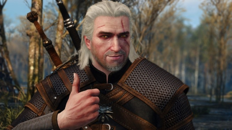 geralt thumbs up witcher 3 Best PC Games To Play On Steam Deck When It Releases