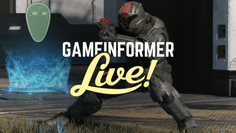 Halo Infinite Gameplay Flight Test Footage – Game Informer Live