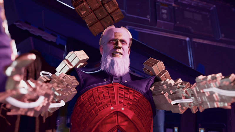Grand Unifier Raker Wants To Share The Truth With The Guardians Of The Galaxy In A New Trailer