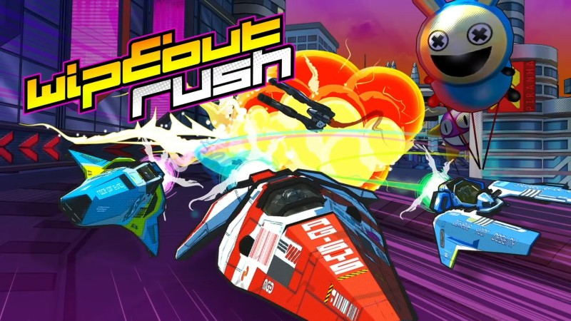 Wipeout Rush Is Racing To Mobile Devices Next Year