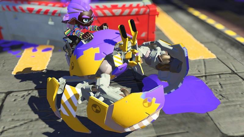 Bertarung seperti tank kepiting dan ninja tinta dengan senjata Splatoon 3 khusus baru ini