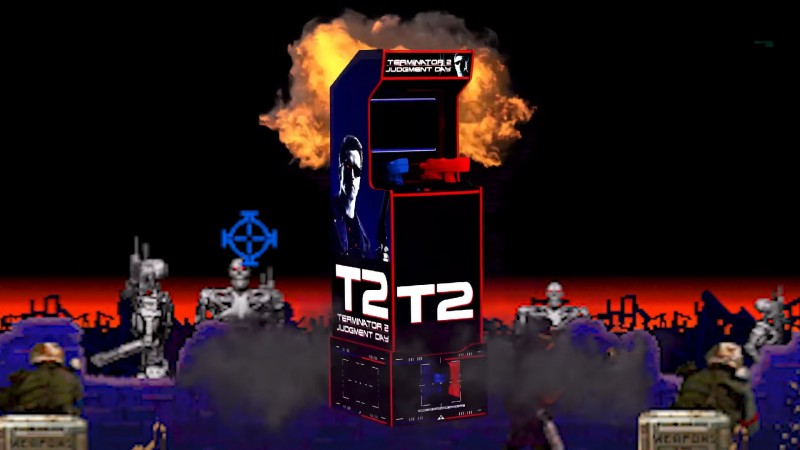 Arcade1Up Announces Terminator 2: Judgment Day Cabinet