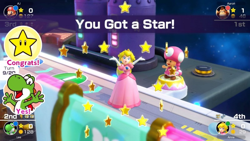Mario Party Superstars Review – Reliable Party Tricks